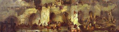 painting - battle of waterloo
